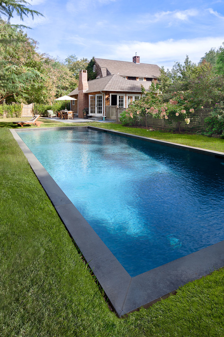 Shelter Island Country Home andretchelistcheffarchitects Garden Pool