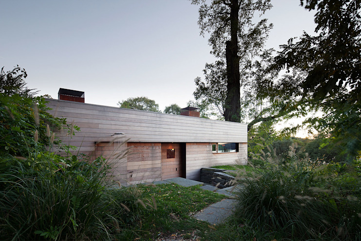 Hudson Valley Spa andretchelistcheffarchitects Wooden houses