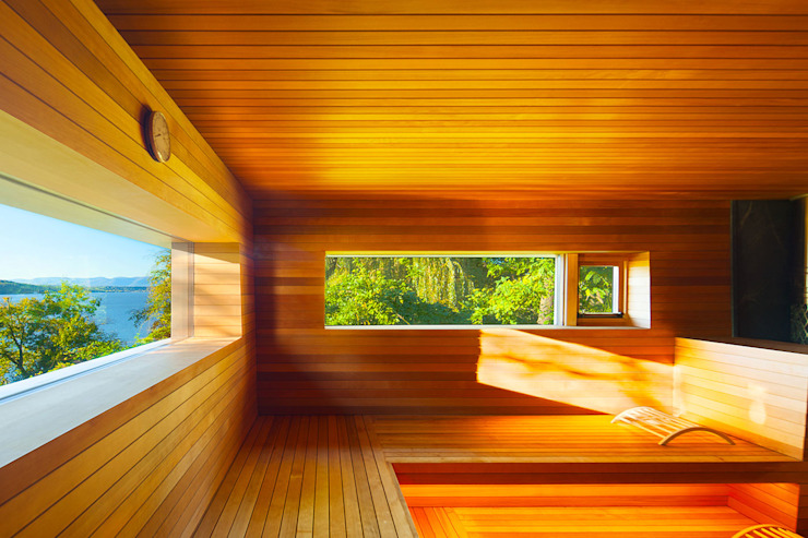 Hudson Valley Spa by andretchelistcheffarchitects Modern