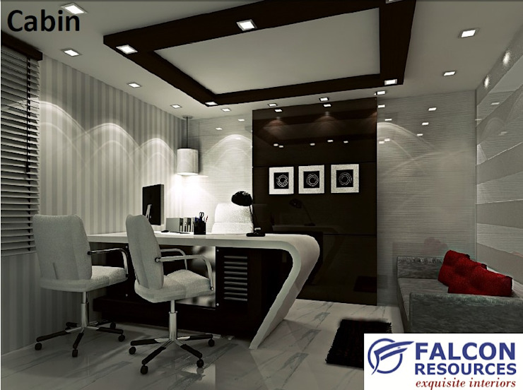 Tata Steel Ltd. Bhubaneswar Modern office buildings by Falcon Resources Modern