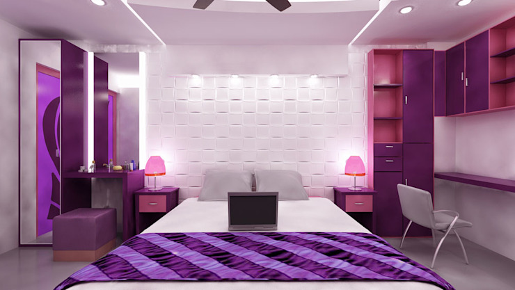 Residential 1 Modern style bedroom by Falcon Resources Modern