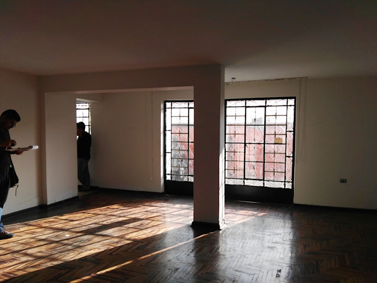 Proy. Precursores - San Miguel, Lima Salas modernas de Kuro Design Studio Moderno
