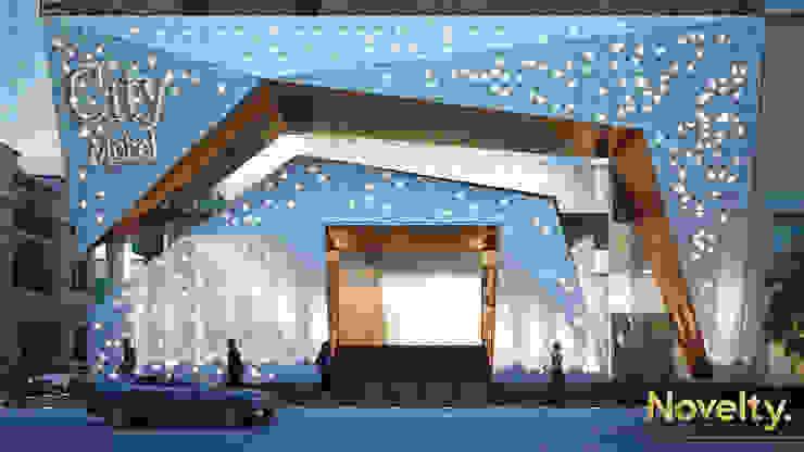 City Mobel Furniture Modern Houses by Novelty design studio Modern Aluminium/Zinc