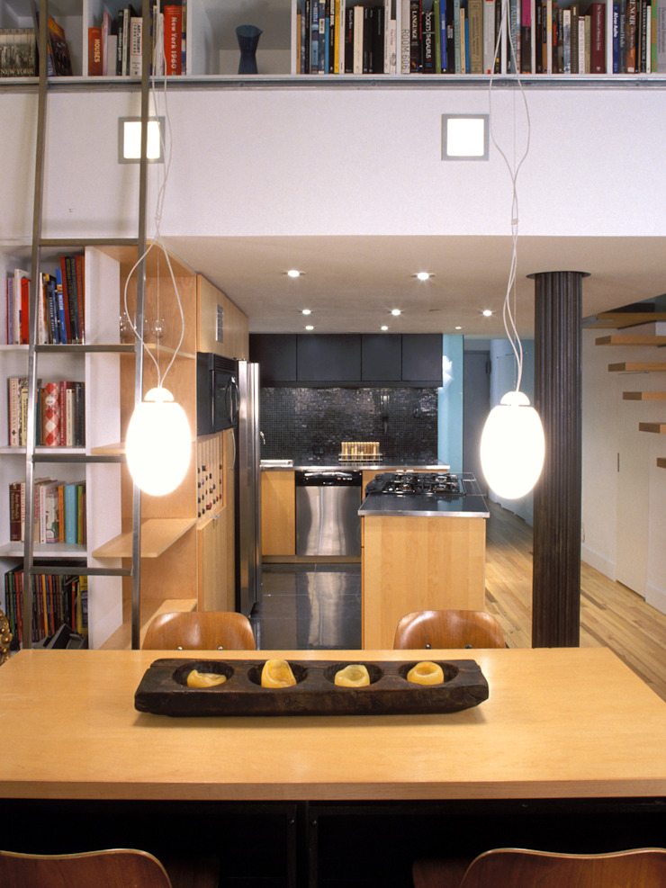 Moderne eetkamers van Kimberly Peck Architect Modern