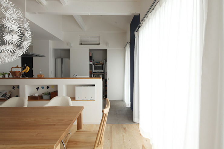 Dapur Gaya Skandinavia Oleh atelier m Skandinavia