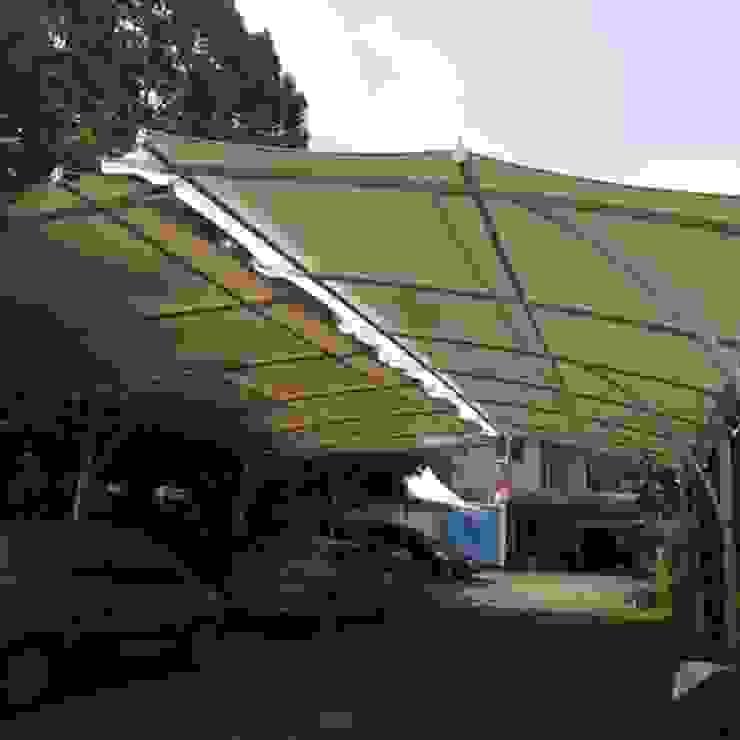Tenda Membran Halaman Parkir Oleh bintang canopy Minimalis