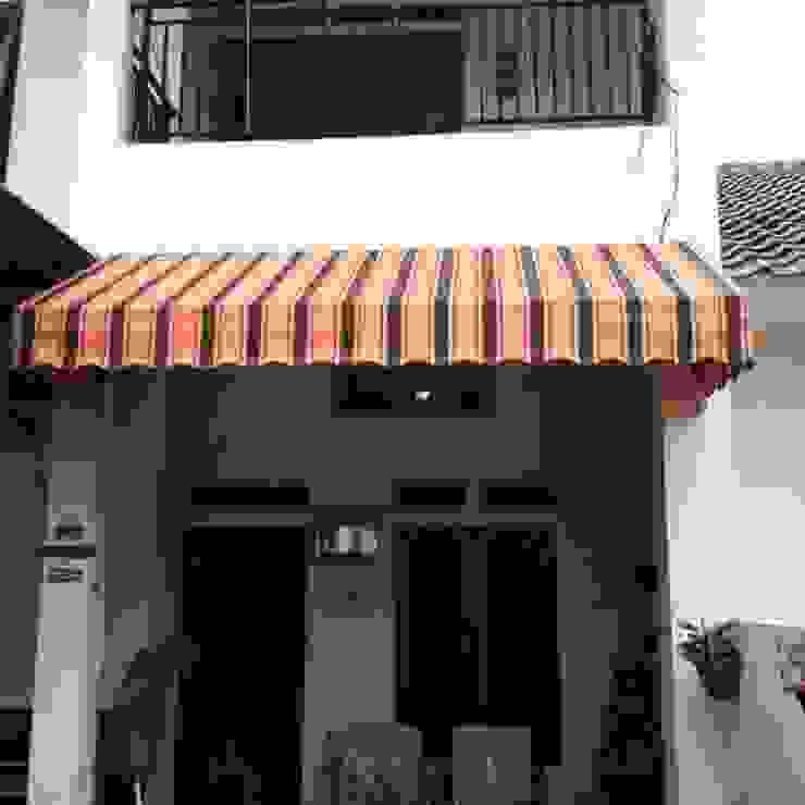 Canopy Kain Bogor Oleh bintang canopy Minimalis Tekstil Amber/Gold