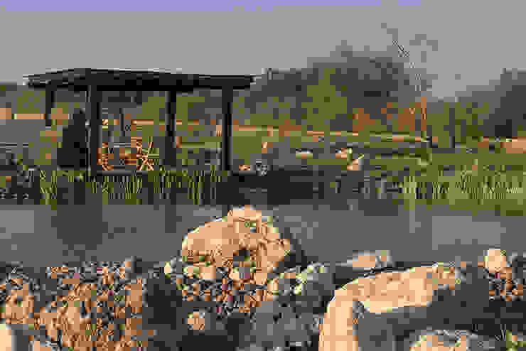 Hábitas บ่อน้ำในสวน