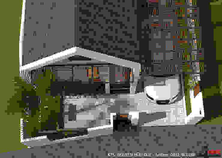 Công ty TNHH CND Associates - Kiến trúc CND Single family home Blue