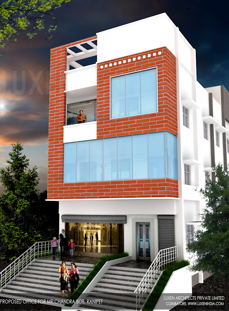 http://www.luxenindia.com/: modern  by Luxen India Architects,Modern