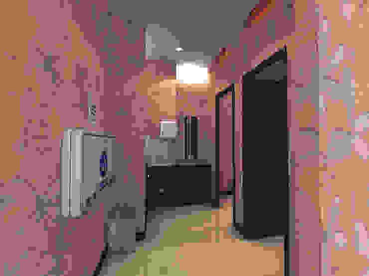 Centros Comerciais modernos por 劉旋設計事務所/劉旋工程有限公司 Moderno