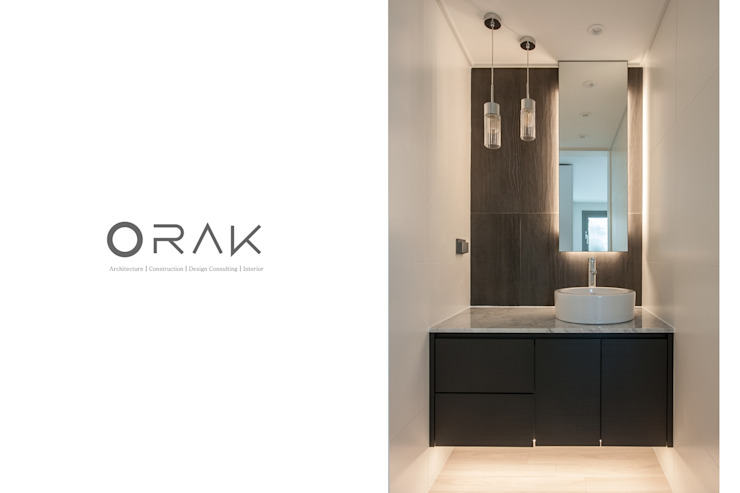 Modern bathroom by 오락디자인 Modern