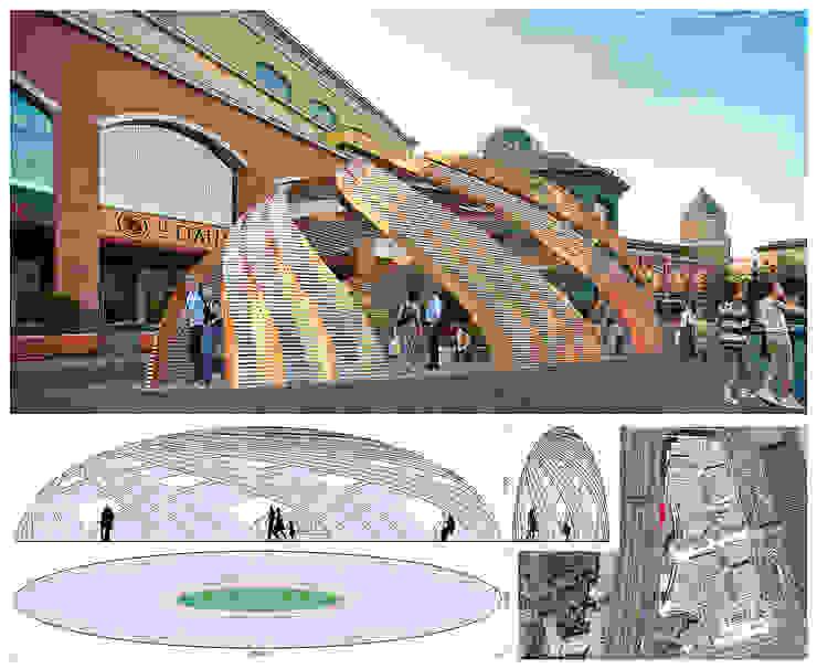 Концепция объекта (инсталляции) у ТРК Атриум от Проектная группа «Портал»