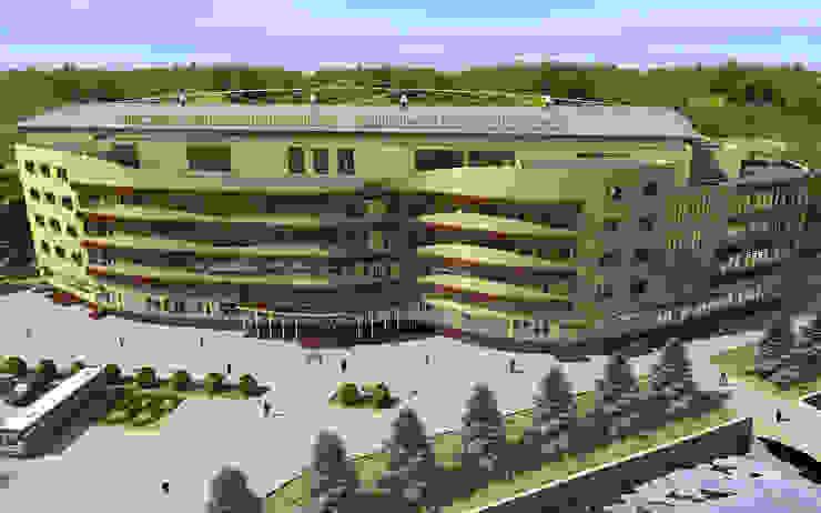 Спортивно-тренировочный комплекс <q>Федеральный центр единоборств</q> от Проектная группа «Портал»