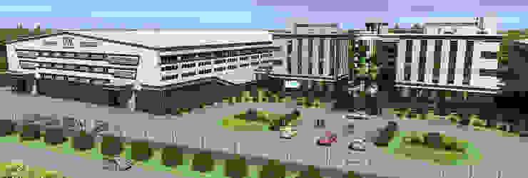 Производственно-складской комплекс от Проектная группа «Портал»
