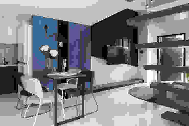 爵士藍調 根據 寓子設計 現代風