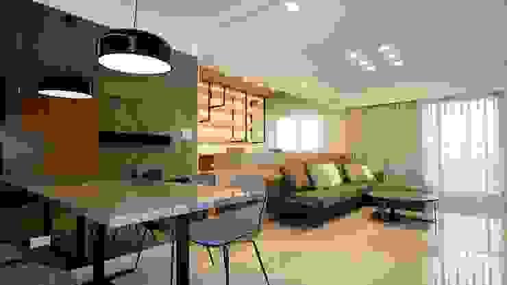 楠梓住宅 根據 清石空間設計工作室 現代風 大理石