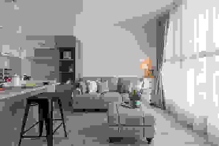 Living room by 寓子設計, Country
