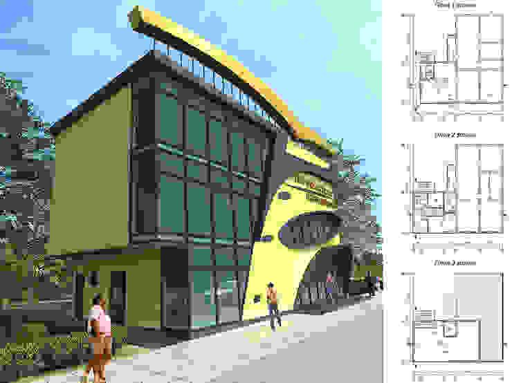 Реконструкция здания творческой студии от Проектная группа «Портал»