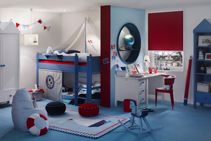 erfal GmbH & Co. KG Nursery/kid's roomAccessories & decoration Red