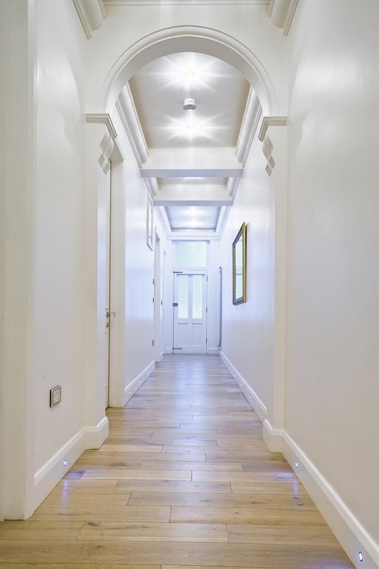 Apartment in West Kensington #1 Modern Corridor, Hallway and Staircase by AR Architecture Modern