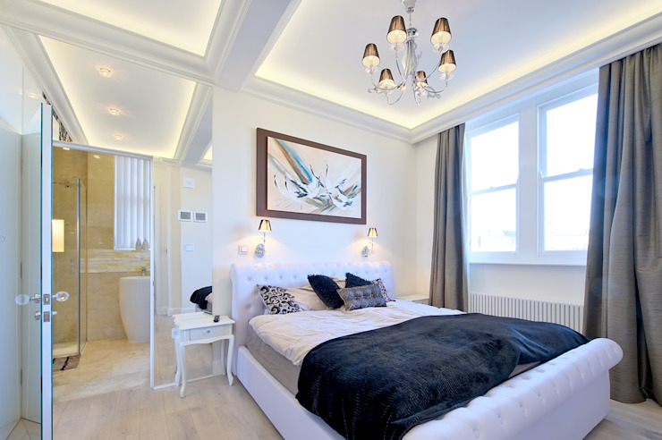 Apartment in West Kensington #1 Modern Bedroom by AR Architecture Modern