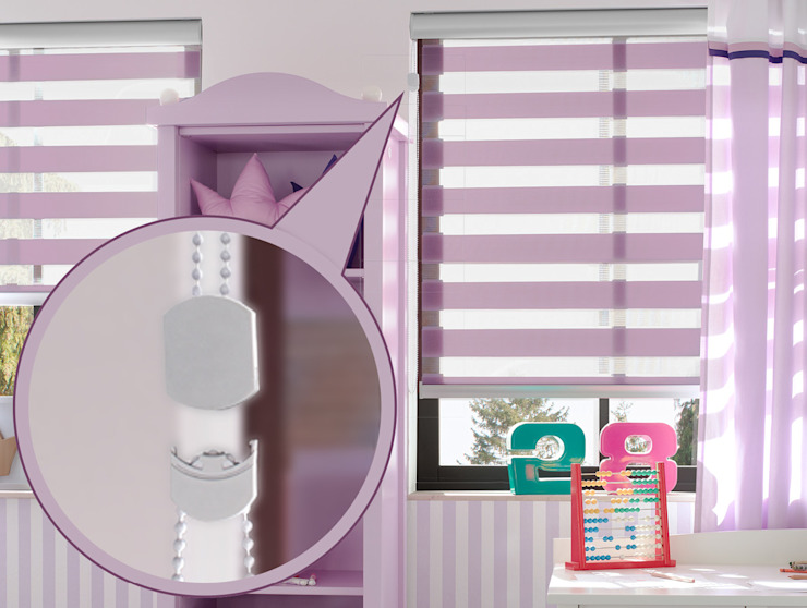 erfal GmbH & Co. KG Windows & doors Blinds & shutters Pink