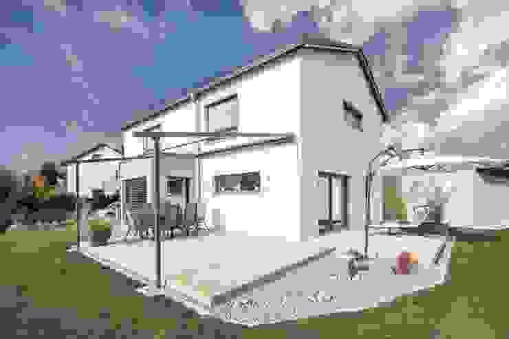 Modern Balkon, Veranda & Teras wir leben haus - Bauunternehmen in Bayern Modern