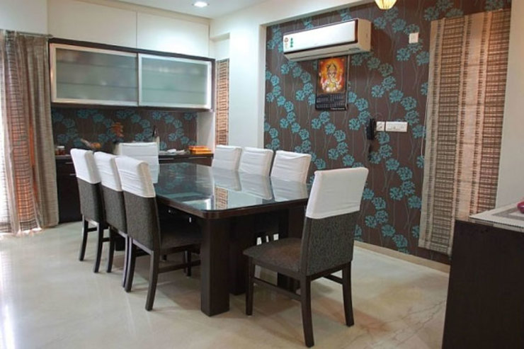 Residential Modern dining room by Sumer Interiors Modern