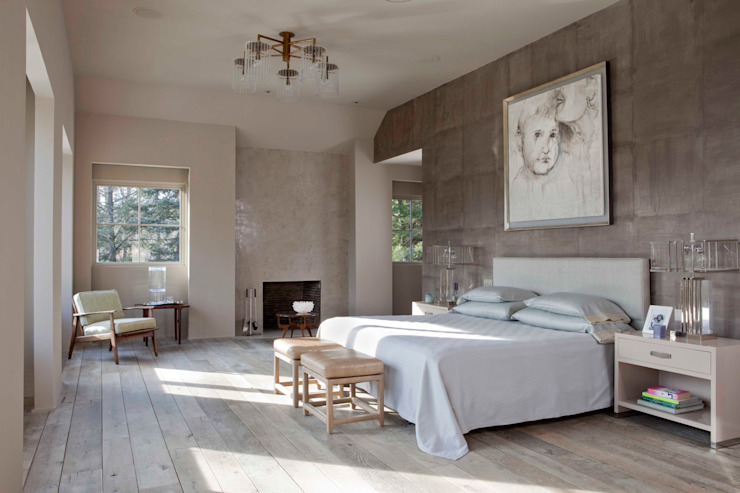 Plunkett Place Modern Bedroom by andretchelistcheffarchitects Modern