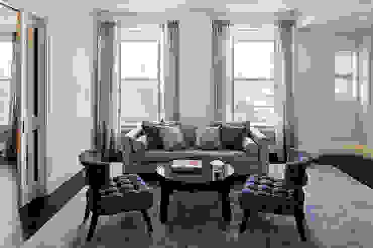 Fifth Avenue Apartment andretchelistcheffarchitects Modern living room