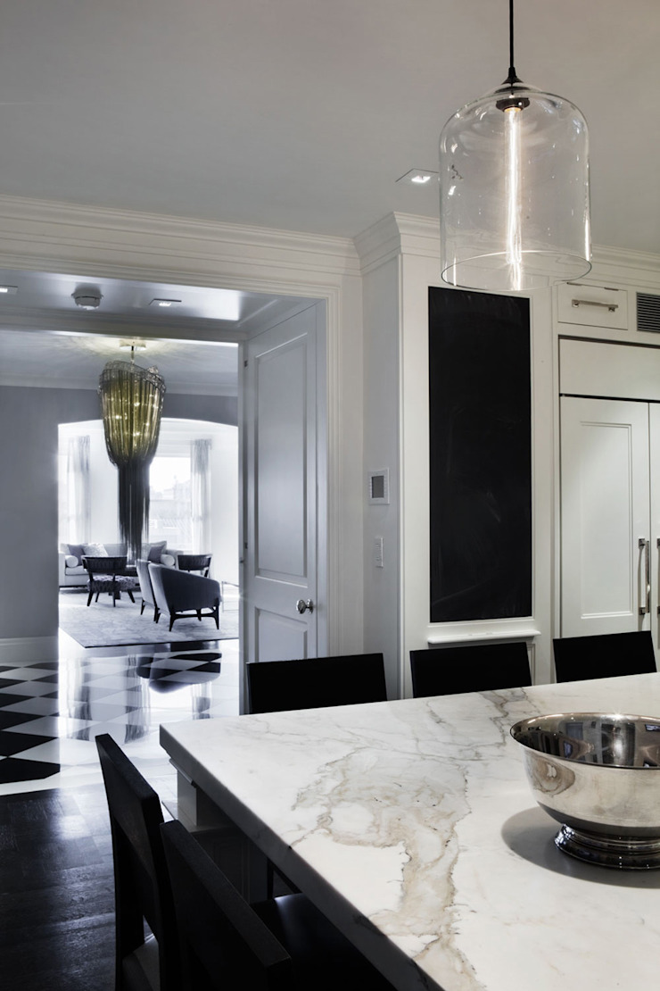 Fifth Avenue Apartment Modern Kitchen by andretchelistcheffarchitects Modern
