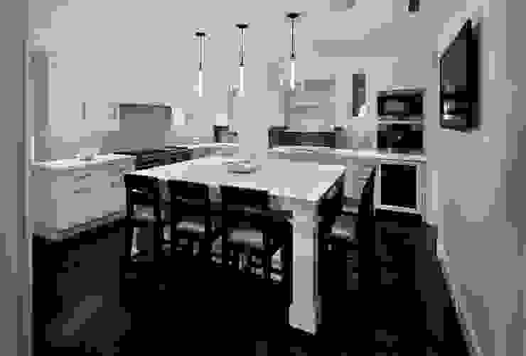 Fifth Avenue Apartment andretchelistcheffarchitects Modern kitchen