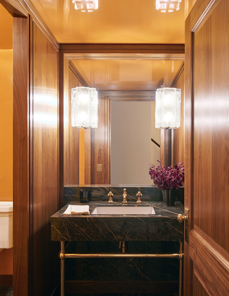 West Village Townhouse Classic style bathroom by andretchelistcheffarchitects Classic