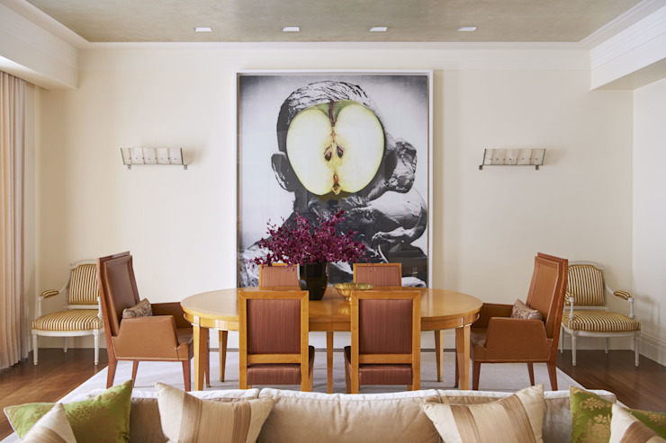 West Village Townhouse Classic style dining room by andretchelistcheffarchitects Classic