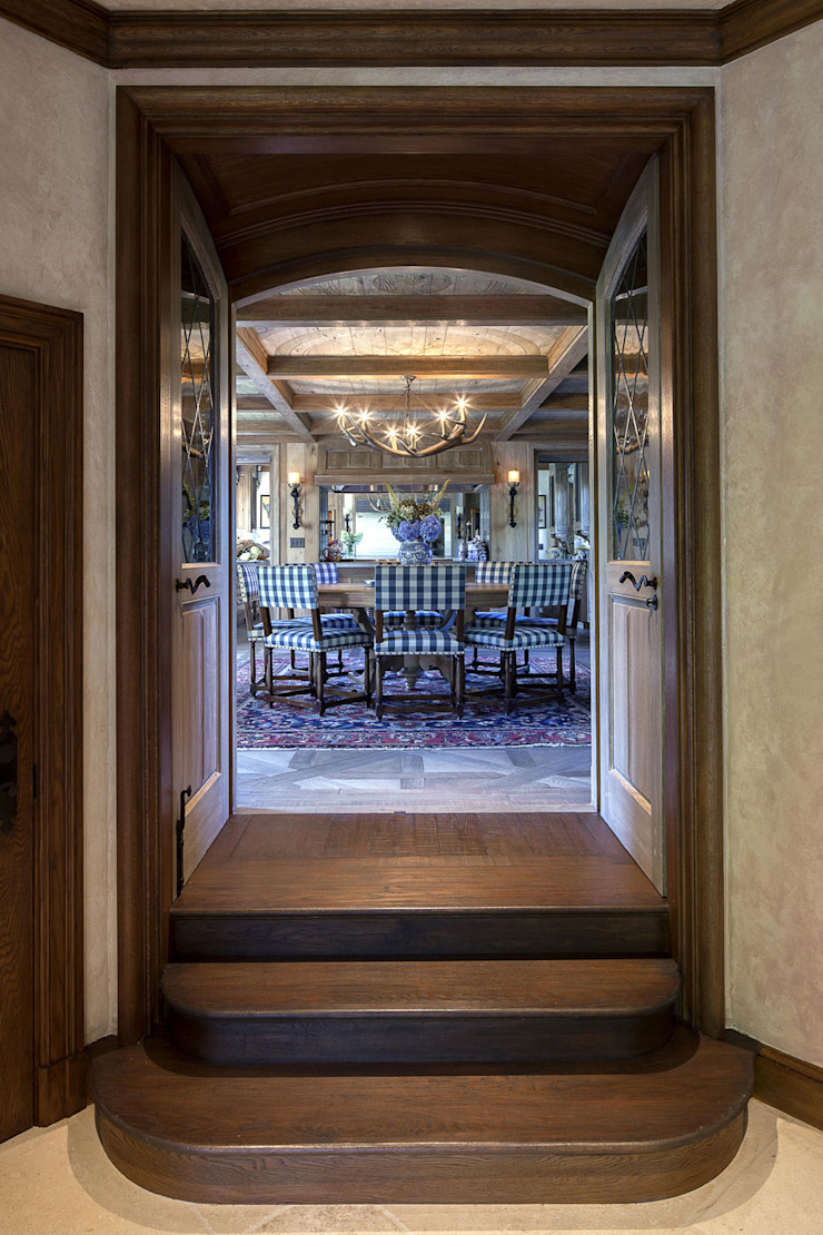 Round Hill Estate Eclectic style dining room by andretchelistcheffarchitects Eclectic
