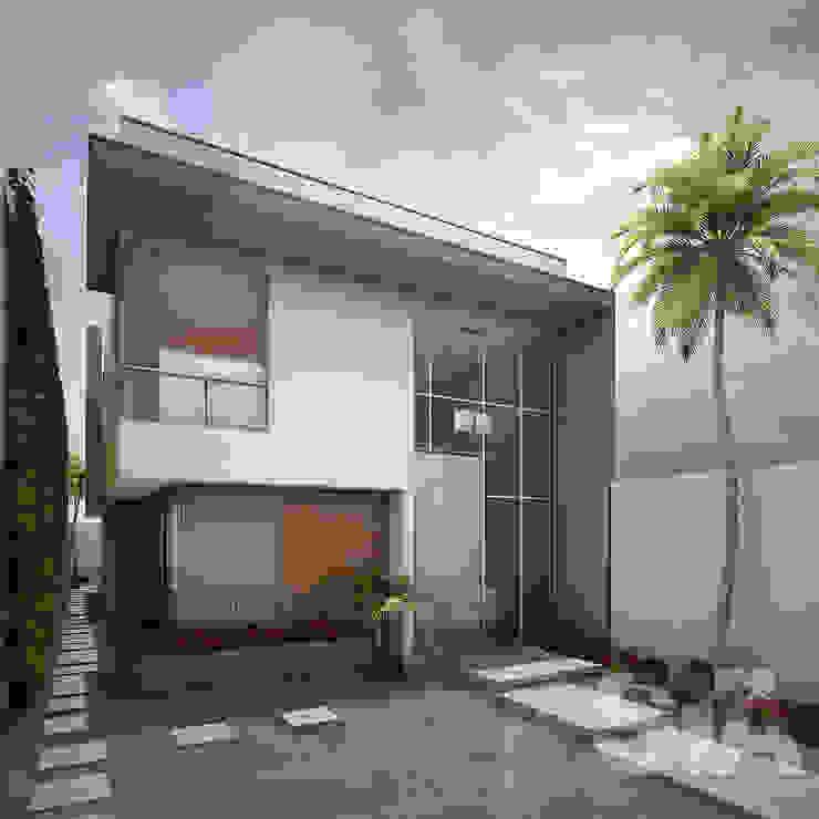 Casas modernas de Soluciones Técnicas y de Arquitectura Moderno