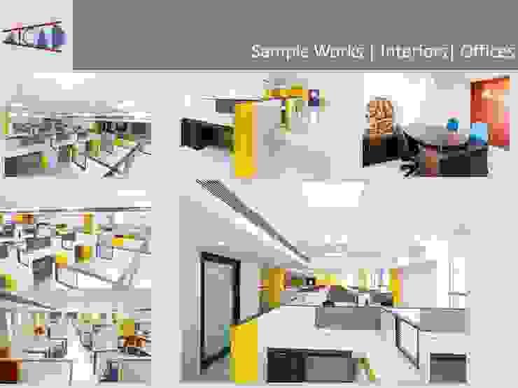 Office Interior Design ( Aicad Studio- Interior Designers and Decorators in Delhi): modern  by Aicad Studio,Modern Engineered Wood Transparent