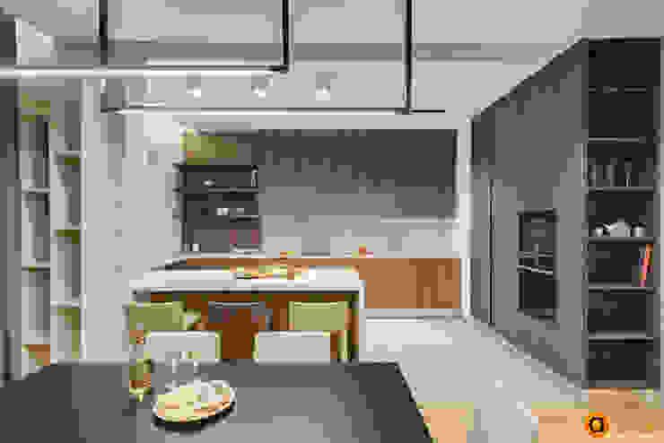 Cocinas de estilo industrial de Artichok Design Industrial