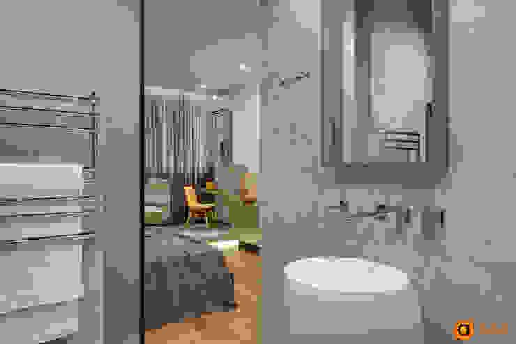 Casas de banho ecléticas por Artichok Design Industrial