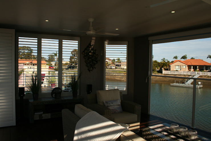 Aluminium Shutters—Outdoor Rooms by TWO Australia Classic
