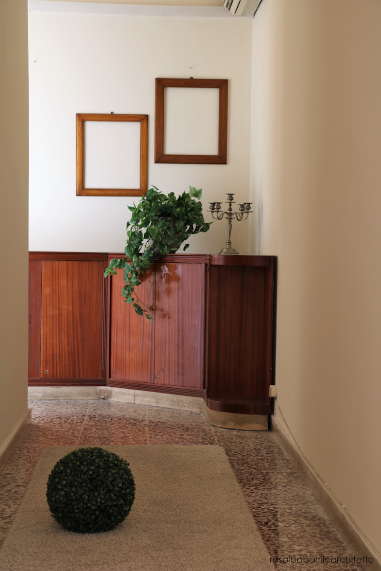 rosalba barrile architetto Koridor & Tangga Klasik