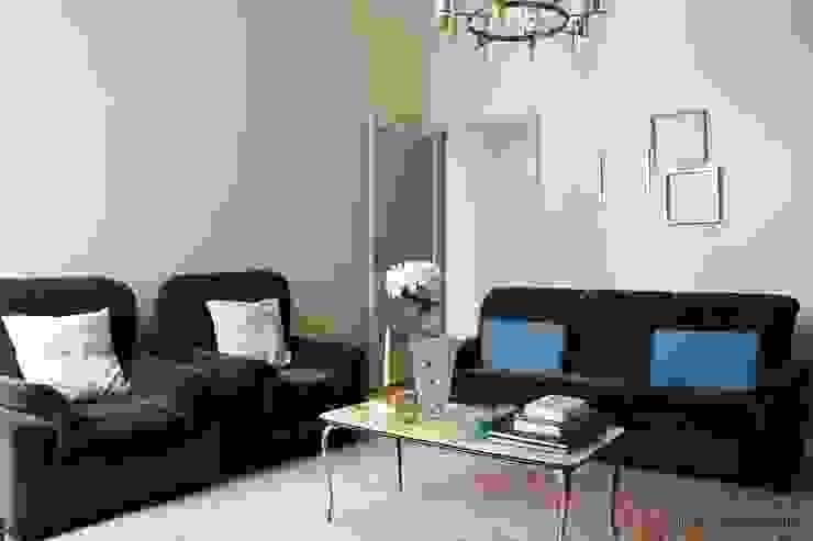 rosalba barrile architetto Ruang Keluarga Klasik