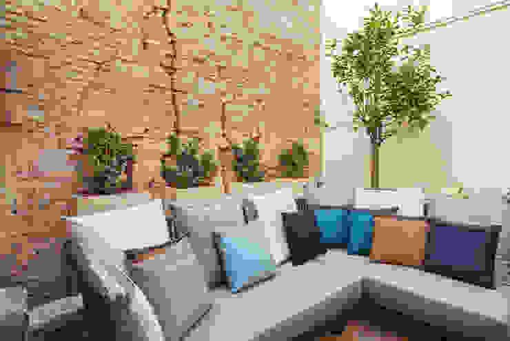 Balcones y terrazas mediterráneos de Isa de Luca Mediterráneo