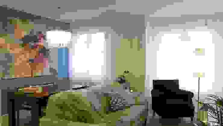 Ruang Keluarga Modern Oleh Arantxa Muru Decoradora Modern