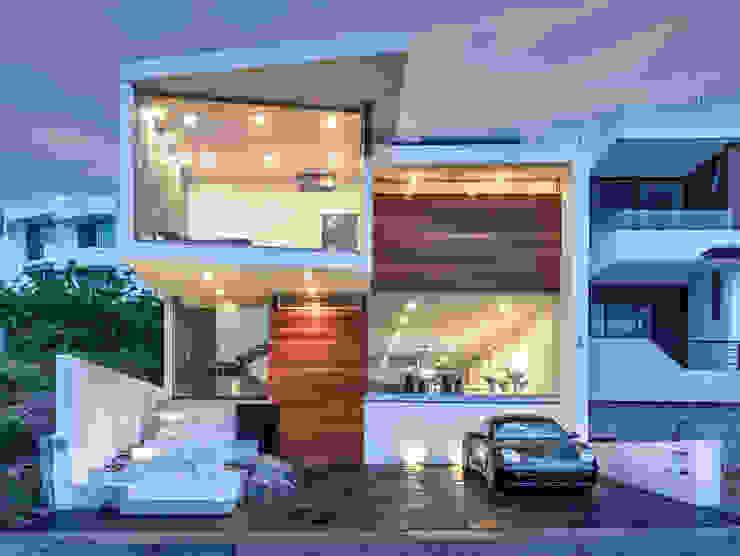 Casa Cumbres del Zamorano Casas modernas de SANTIAGO PARDO ARQUITECTO Moderno