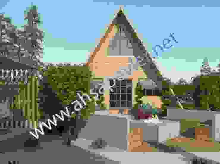 SİSNELİ AHŞAP EV - AĞAÇ EV - KÜTÜK EV - BUNGALOV -KAMELYA Prefabricated home
