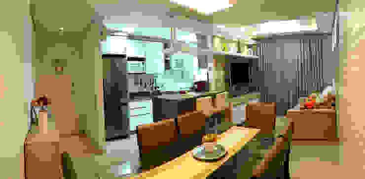 Salas de jantar modernas por MRAM Studio Moderno