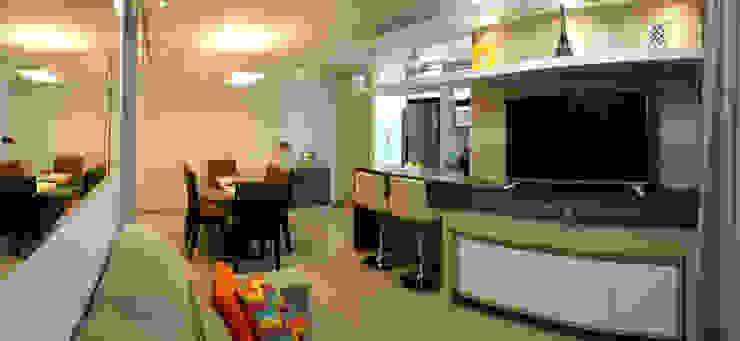 Estar Modern Living Room by MRAM Studio Modern