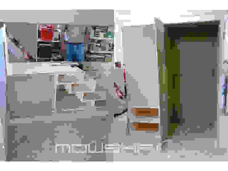 O acompanhamento do fabrico da estrutura. Mowsha tek Design Lda Berçários